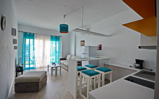 one bedroom for rent in Saranda