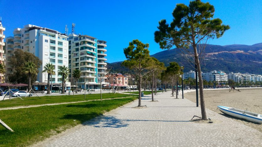 Albania real estate in Vlora promenade